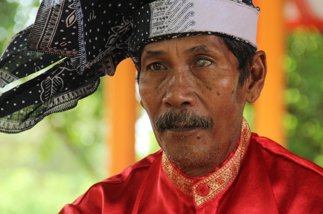 Gedang Spieler in Makassar (Sulawesi) - Foto: Petra Hess