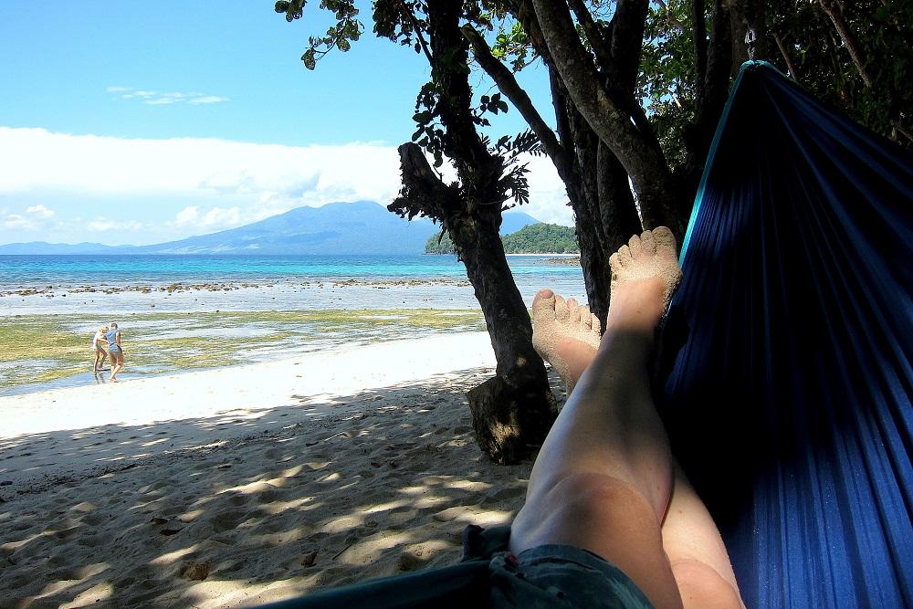 05 Ankommen und Relaxen - am Strand des Pulisan Resorts