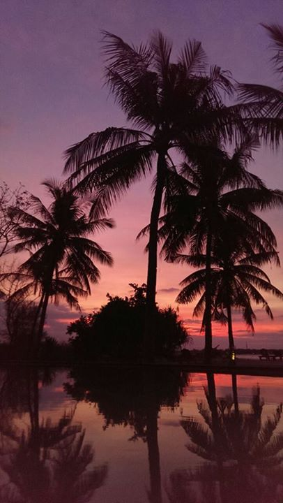 Sunset auf Gili Air by Kath Rin