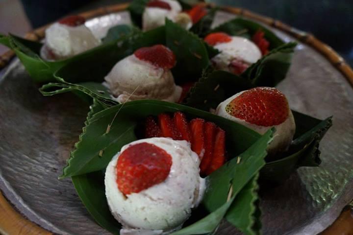 Veganes Eis in Ubud