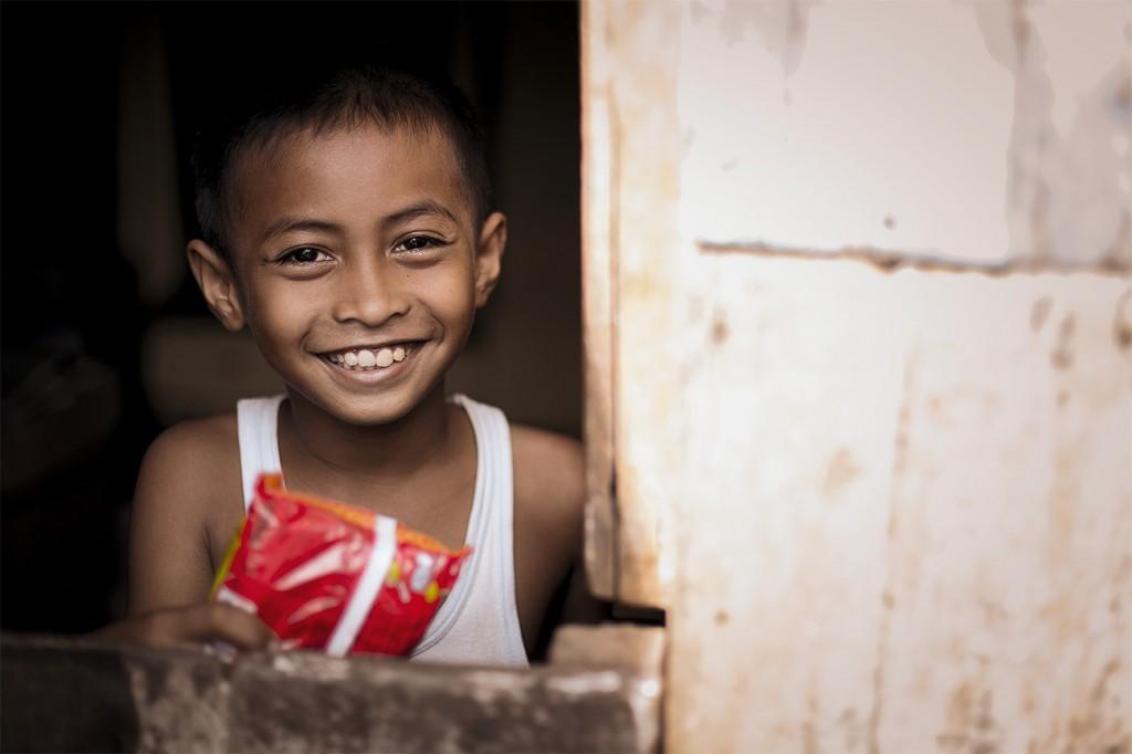 Kids auf Sulawesi