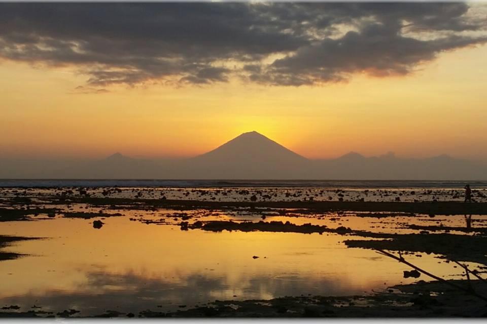 Sunset auf Gili Trawangan by Fabio Stecher