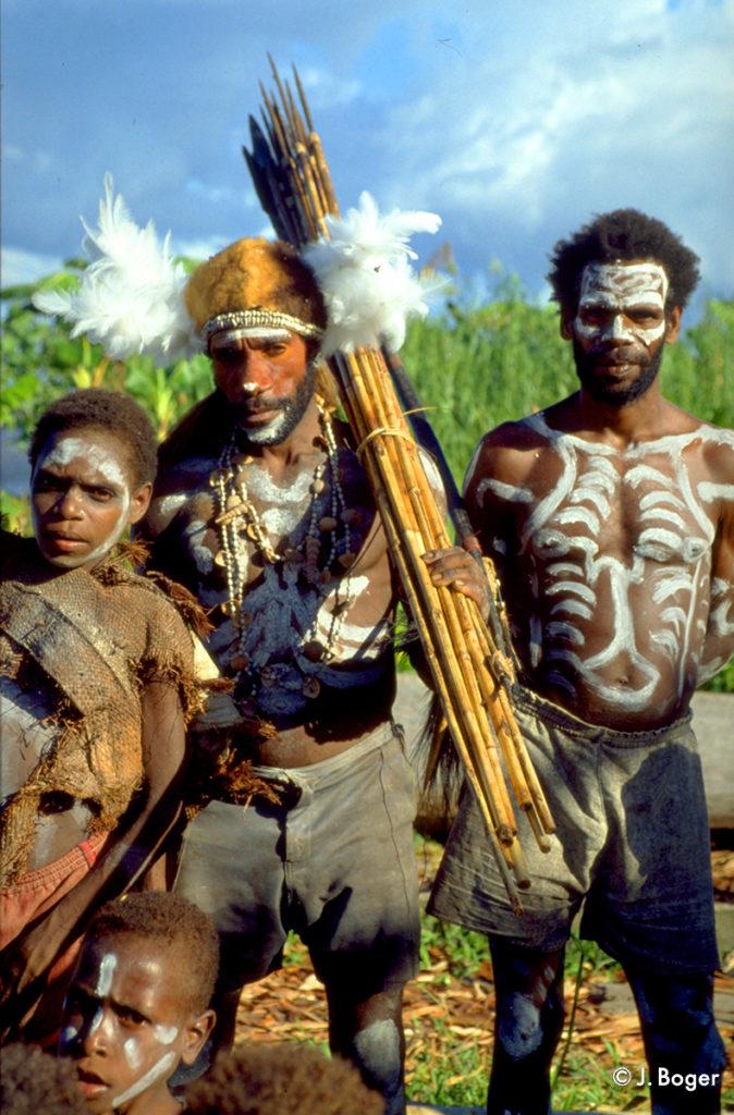 Asmat-Krieger_Papua