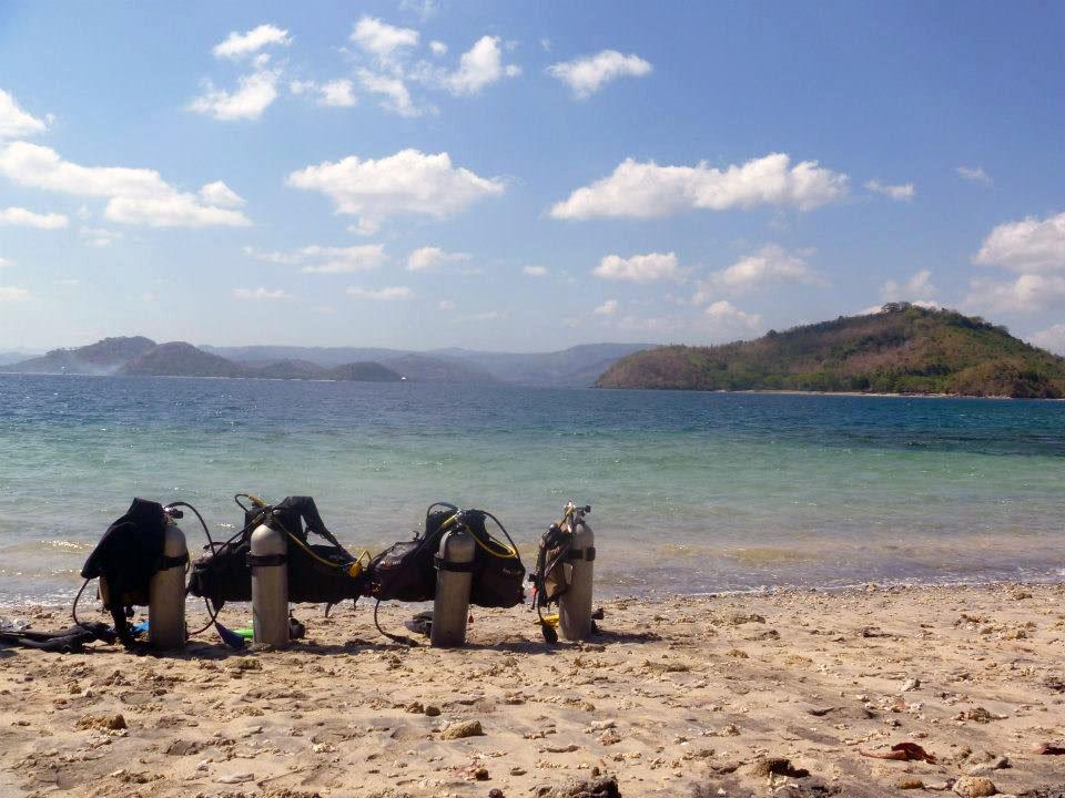 Tauchen in der Sekotong Gegend in Lombok