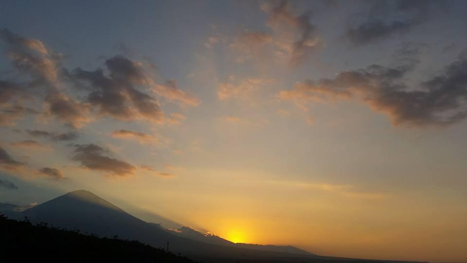 Sonnenuntergang Amed