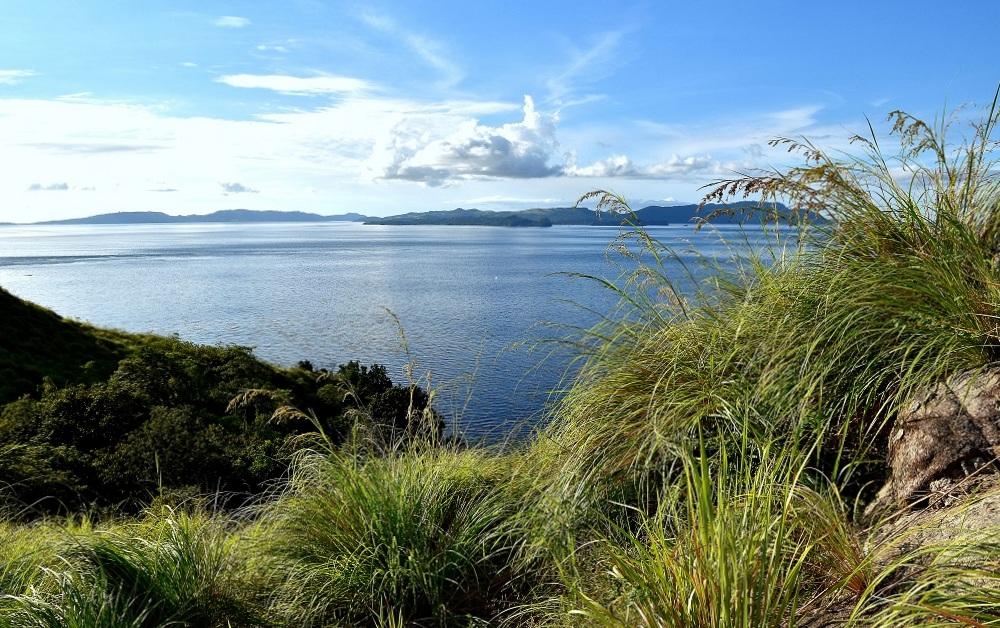 28 Im Grasland von Pulisan - bis zu den Inseln Bangka, Gangga und Talisei ist es nur ein Katzensprung