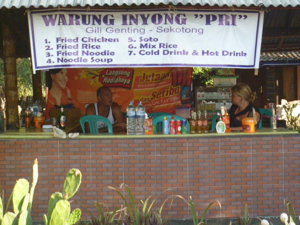 Local Warung in Lombok