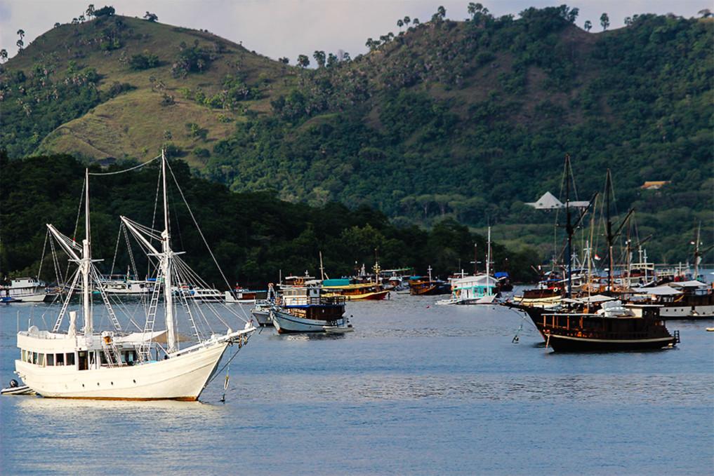 4 Wochen Indonesien Rundreise - Hafen Flores