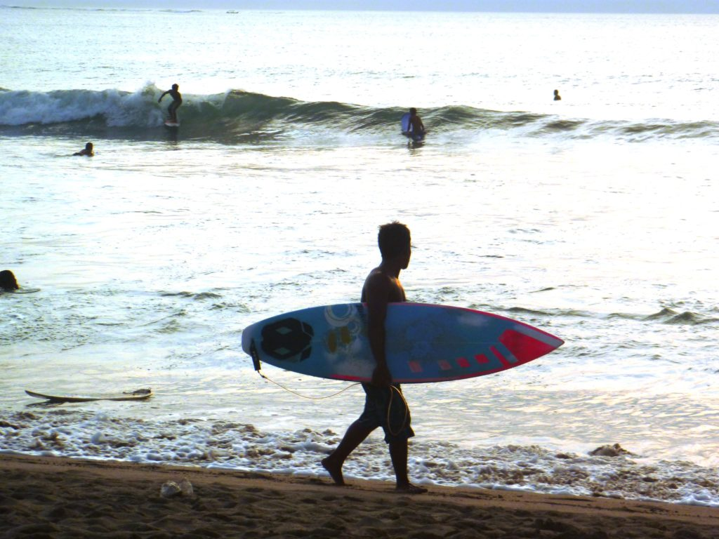 Surfer am Kuta Beach