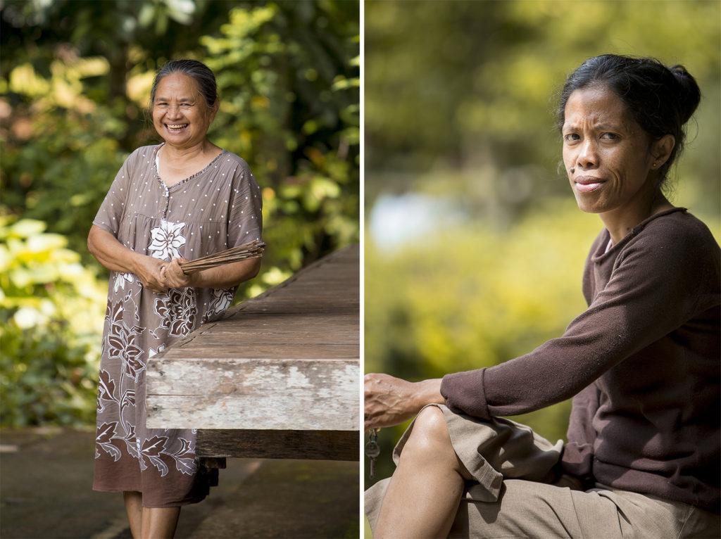 Menschen auf Sulawesi