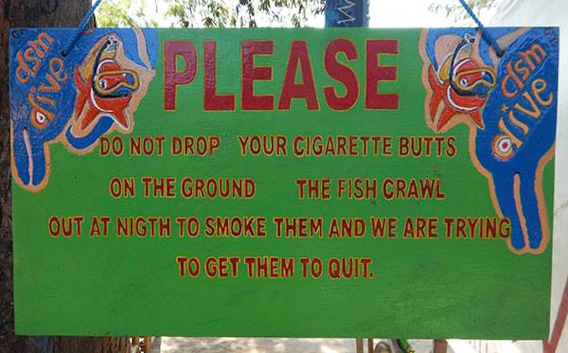 Umwelt Gili Inseln