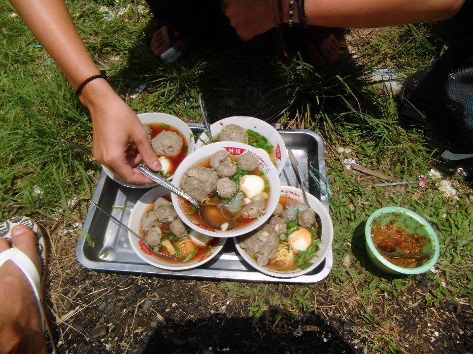 Indonesisches Essen Bakso