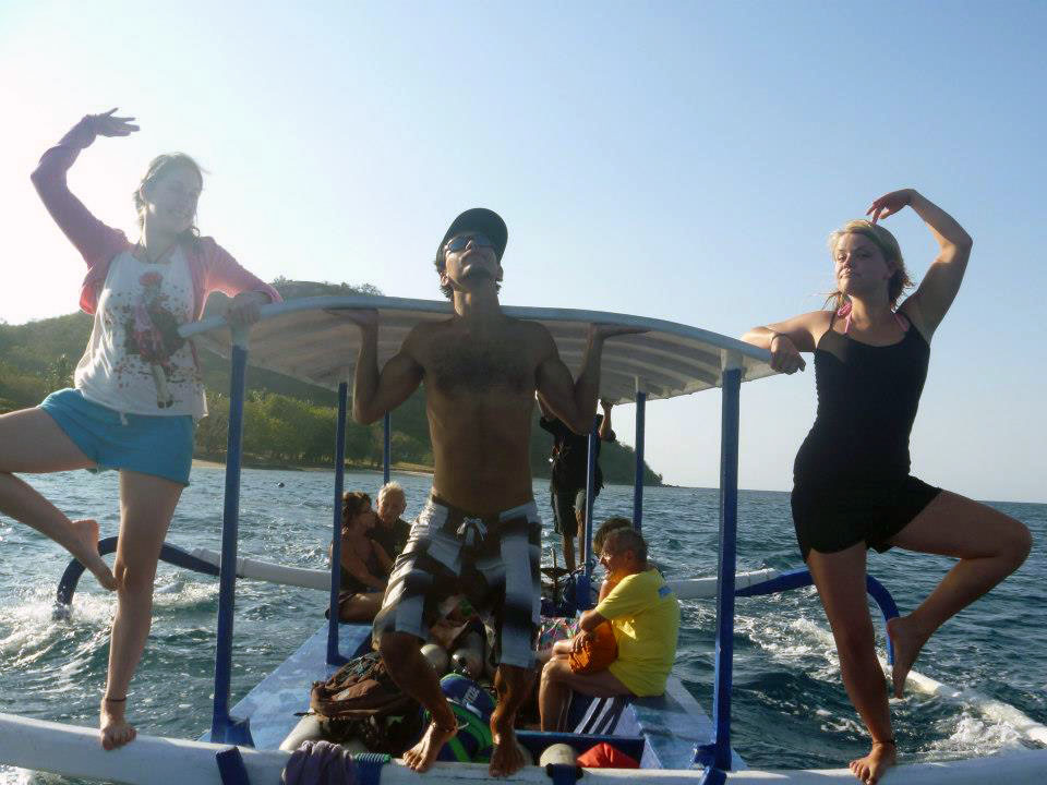 Spaß haben von Gili Asahan nach Sekotong (Lombok)