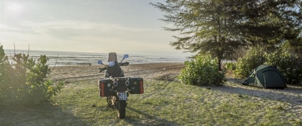 Sumatra Roller fahren