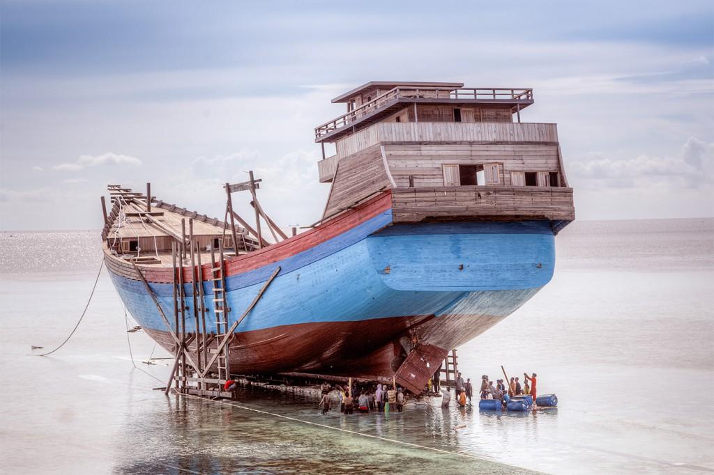 Schiffwerften auf Sulawesi