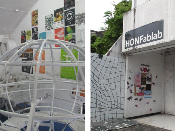Hauptquartier des House of Natural Fiber (HONF) und HONFablab