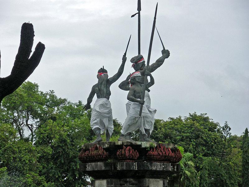 Bali Sehenswürdigkeiten Taman_Puputan