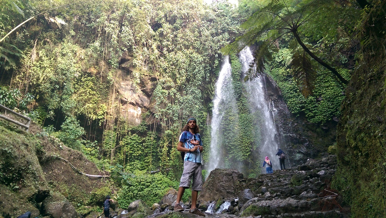 Air terjun Jumog Indonesien Rundreise