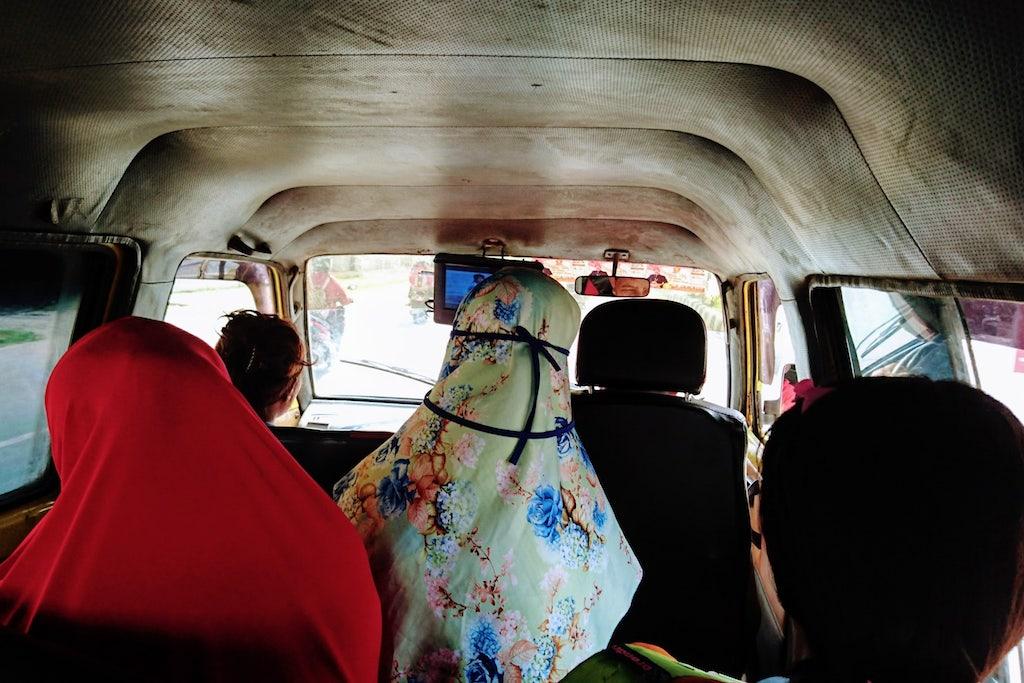 Angkot-Sorong-Papua