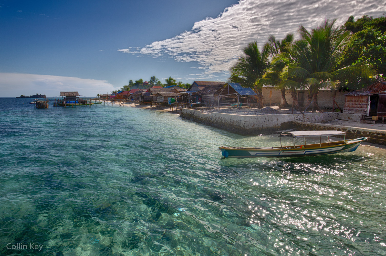 Das Bajo Dorf von Labengki Island