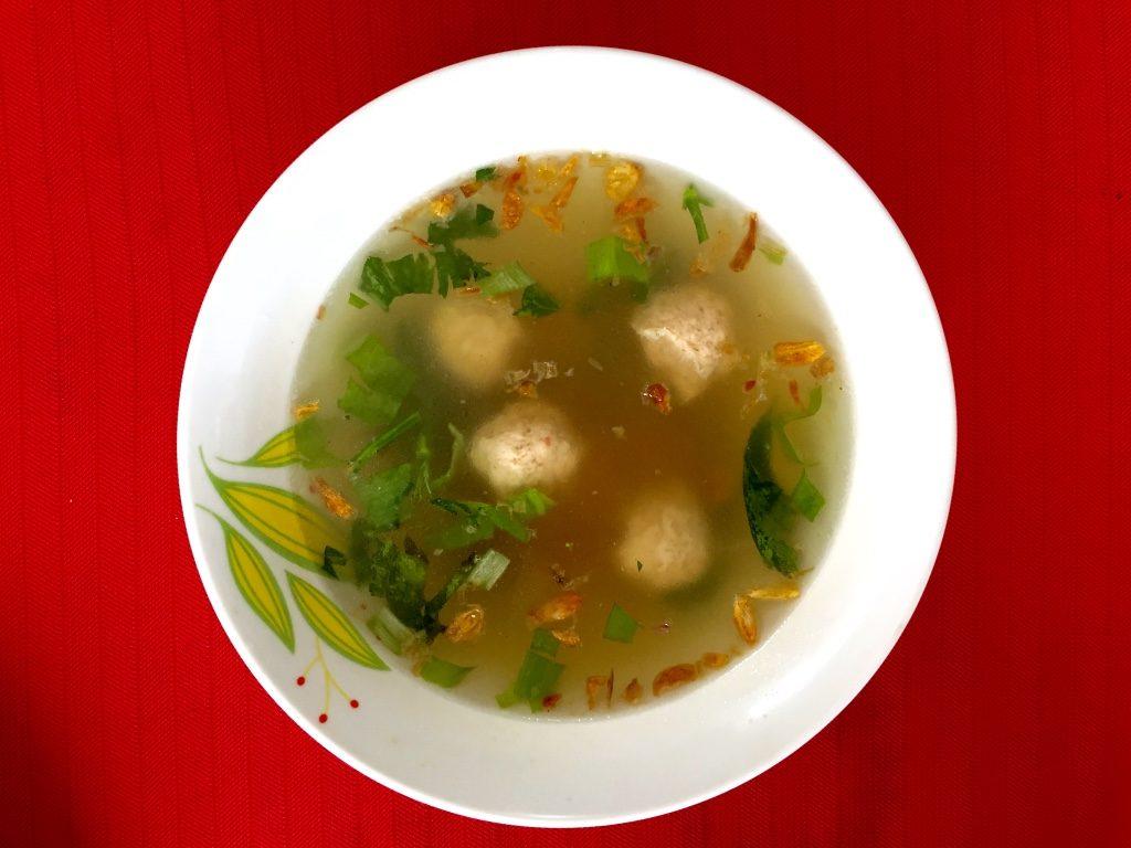 Bakso Soja vegetarische restaurants yogyakarta