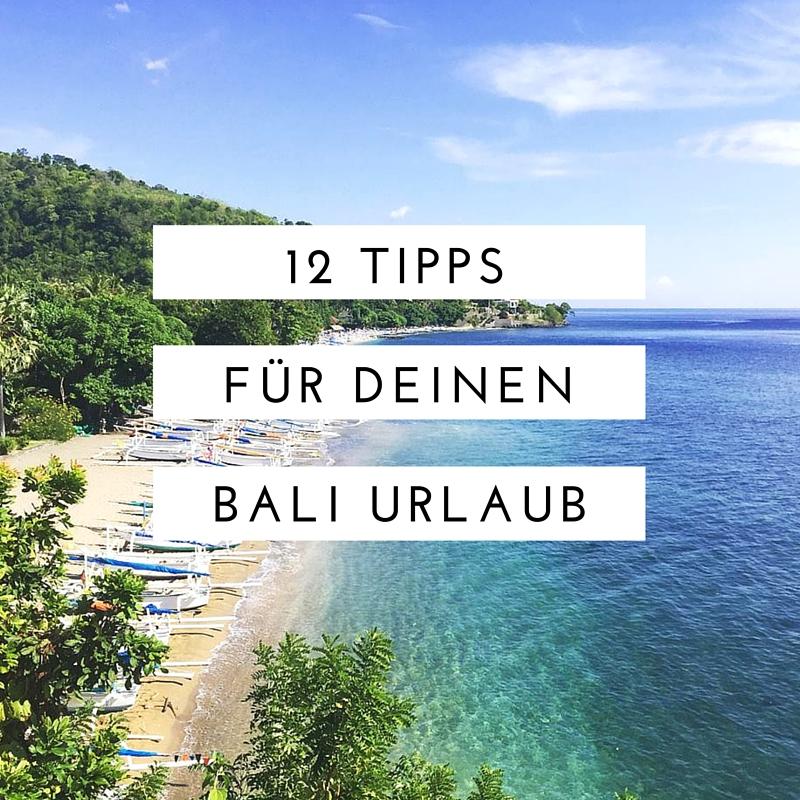 Bali Tipps Urlaub