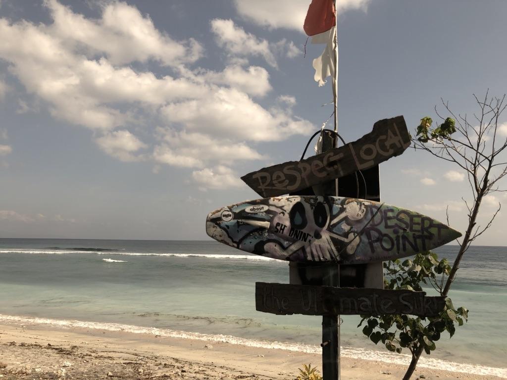 Bali Lombok Desert Point