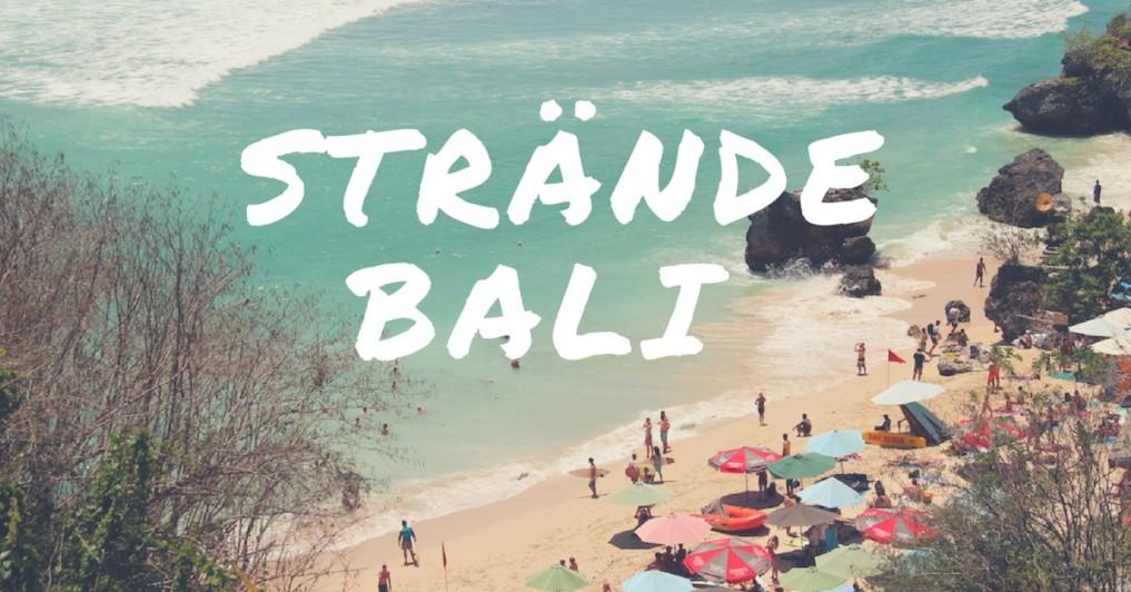 Bali Straende