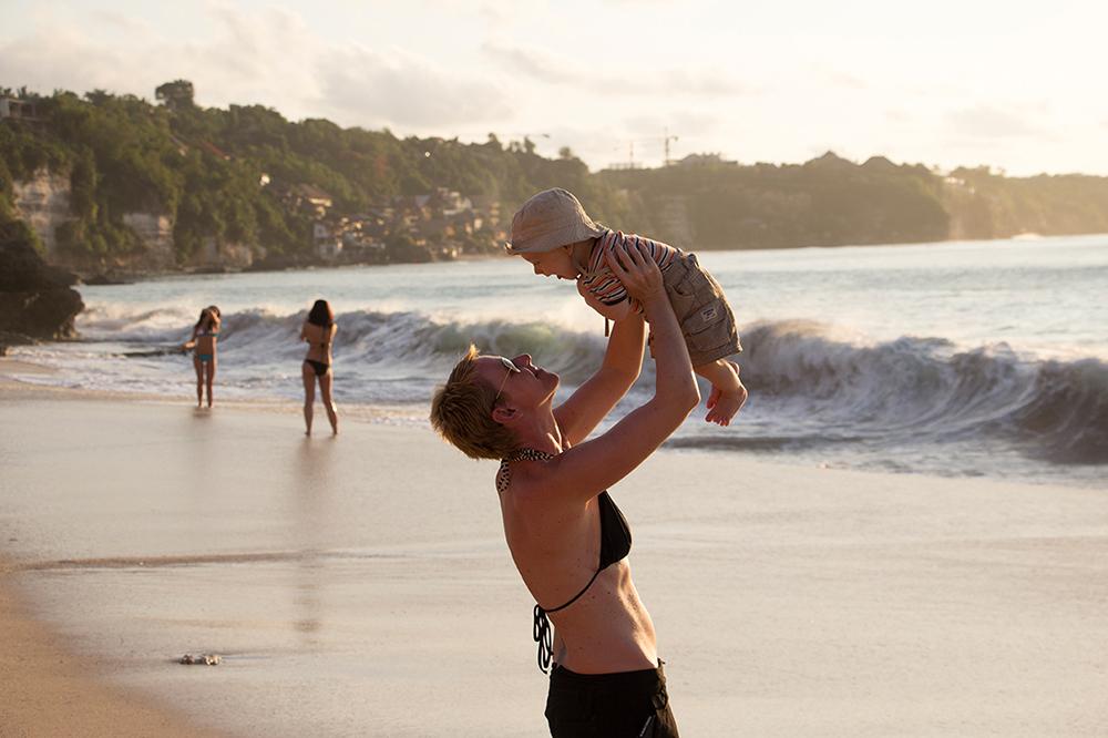Bali mit Baby 3 – Dreamland Beach ©Gabriela Urban