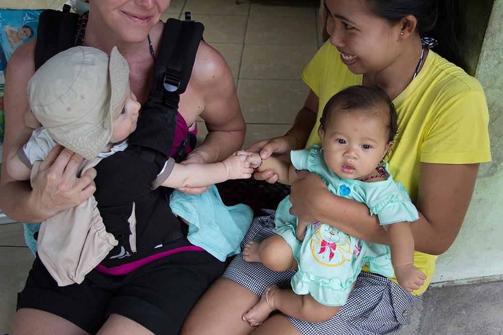 Bali mit Baby ©Gabriela Urban