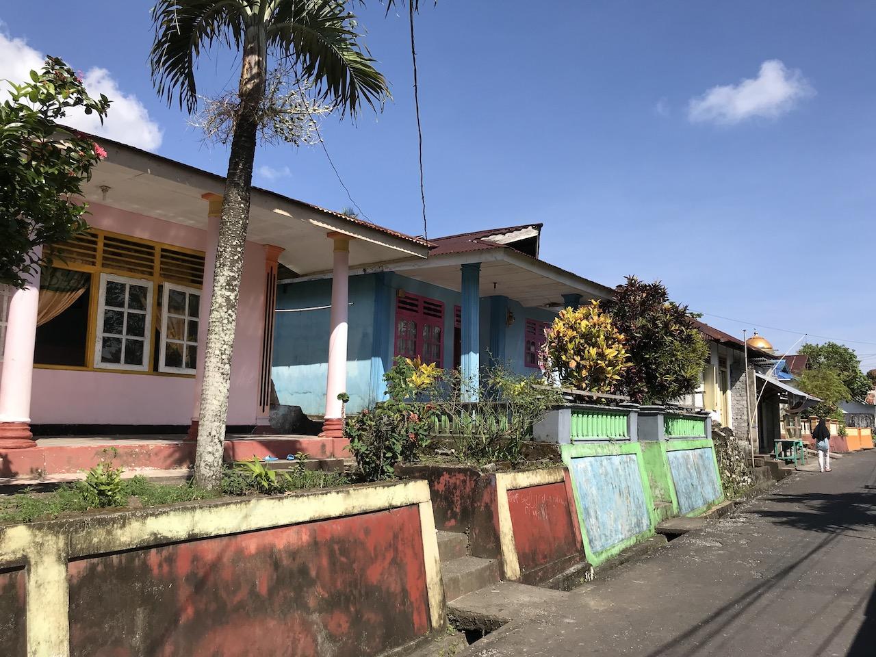Banda-Inseln-Banda-Neira-Häuser Nusantara