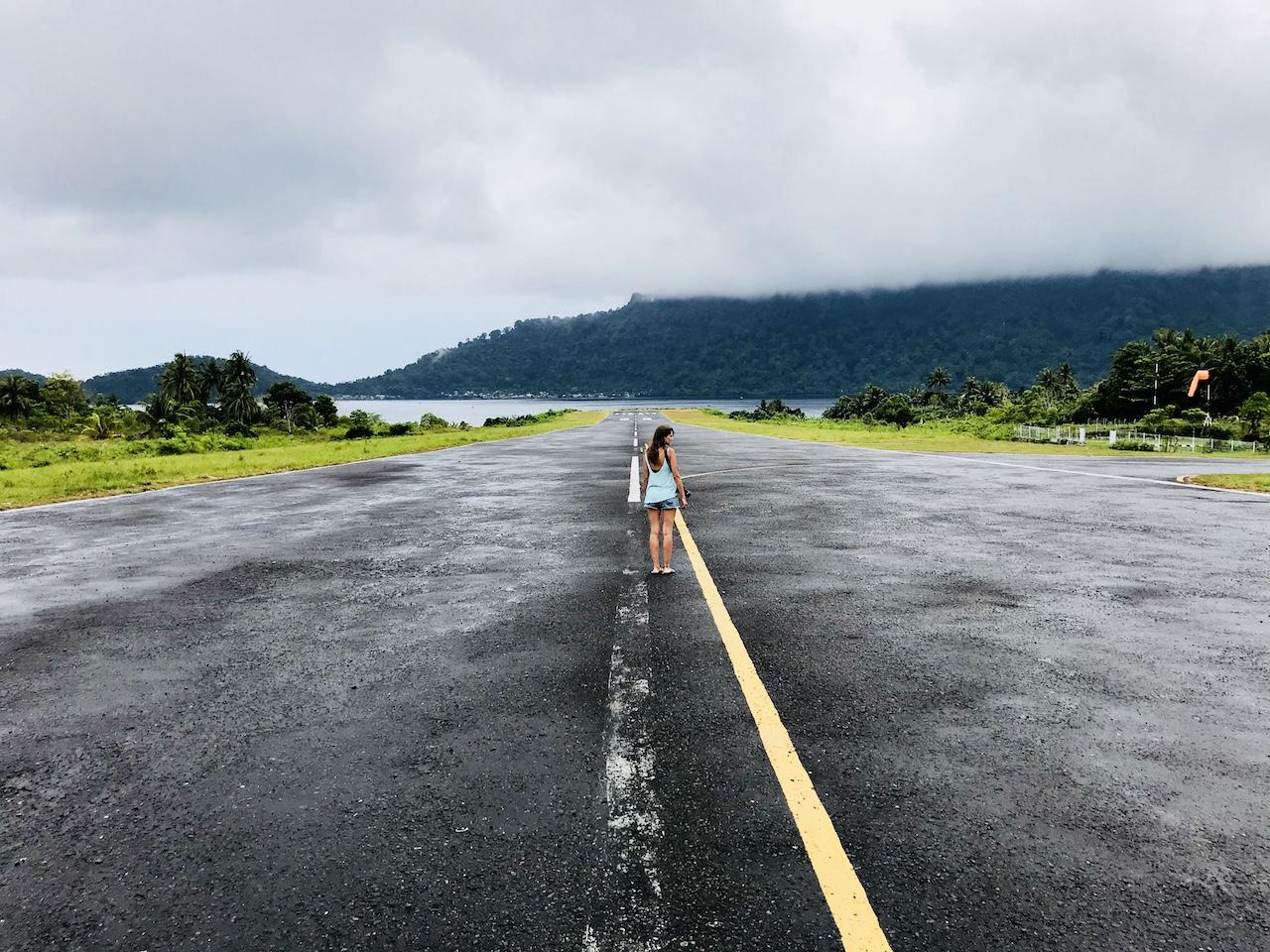 Banda-Inseln-Banda-Neira-Landebahn