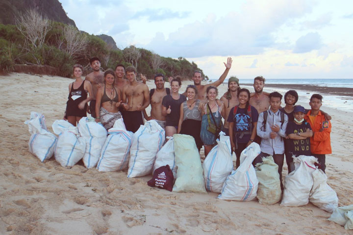 Beach-Clean-up_Indonesien_BIRU-BIRU