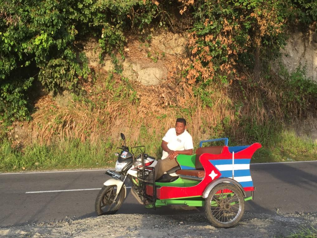 Becak Fahrer Pulau Weh
