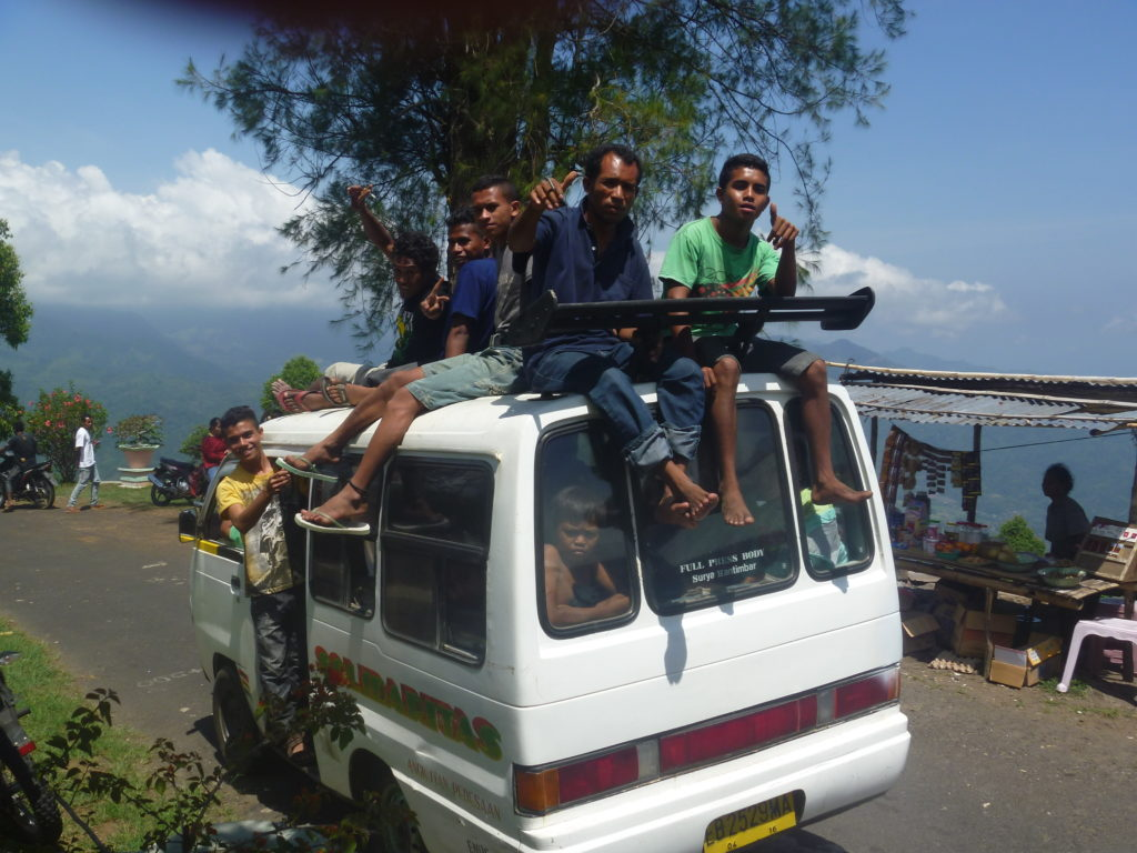 Bemo Indonesien