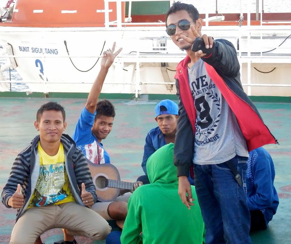Auf dem Pelni-Boot zwischen Sulawesi und Flores