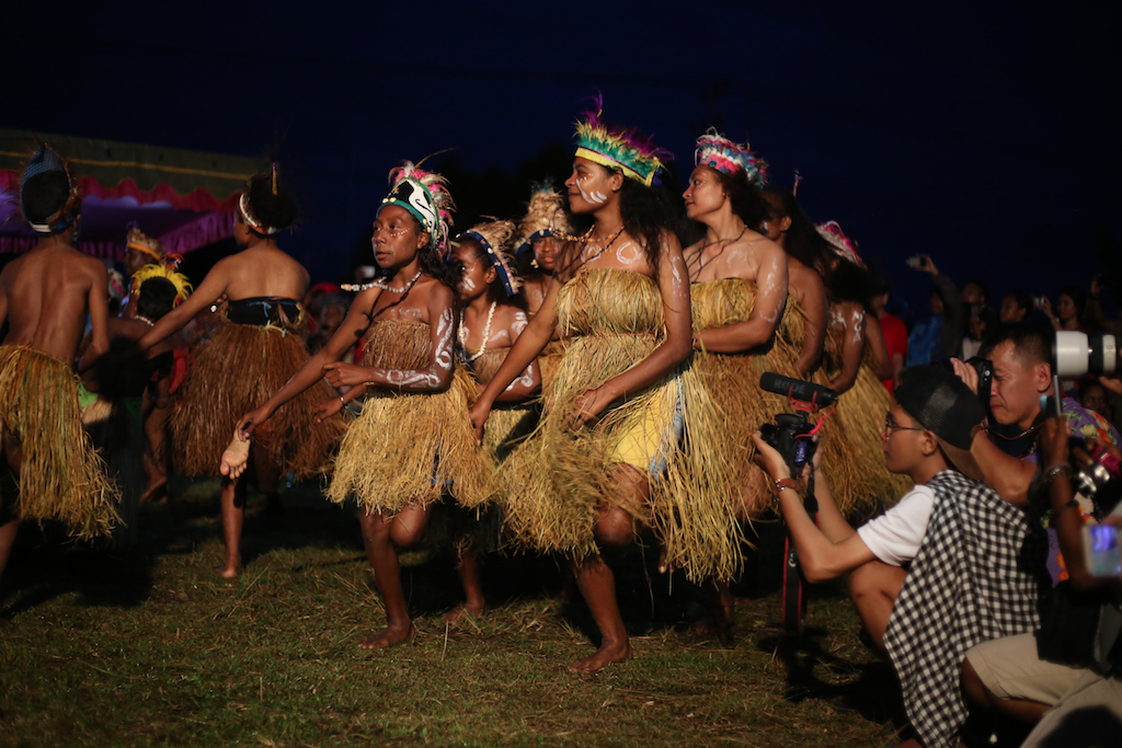 Biak-Ureinwohnerfestival