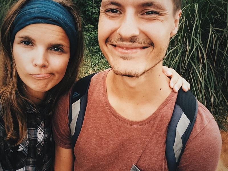 Lena und Oleg auf Bali