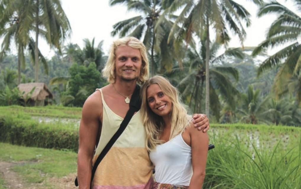 Christoph und Nadine auf Bali