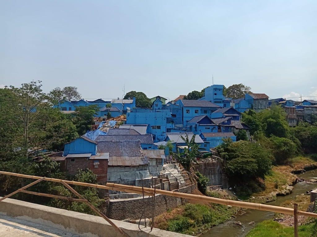 Blue-Village-Malang-Indonesien-Java