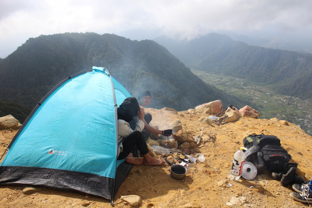 Camping Berastagi