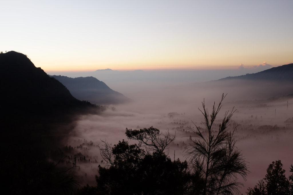 Bromo-Vulkan-Landschaft