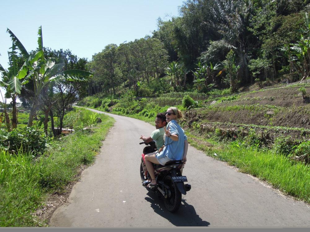 Roller fahren Indonesien
