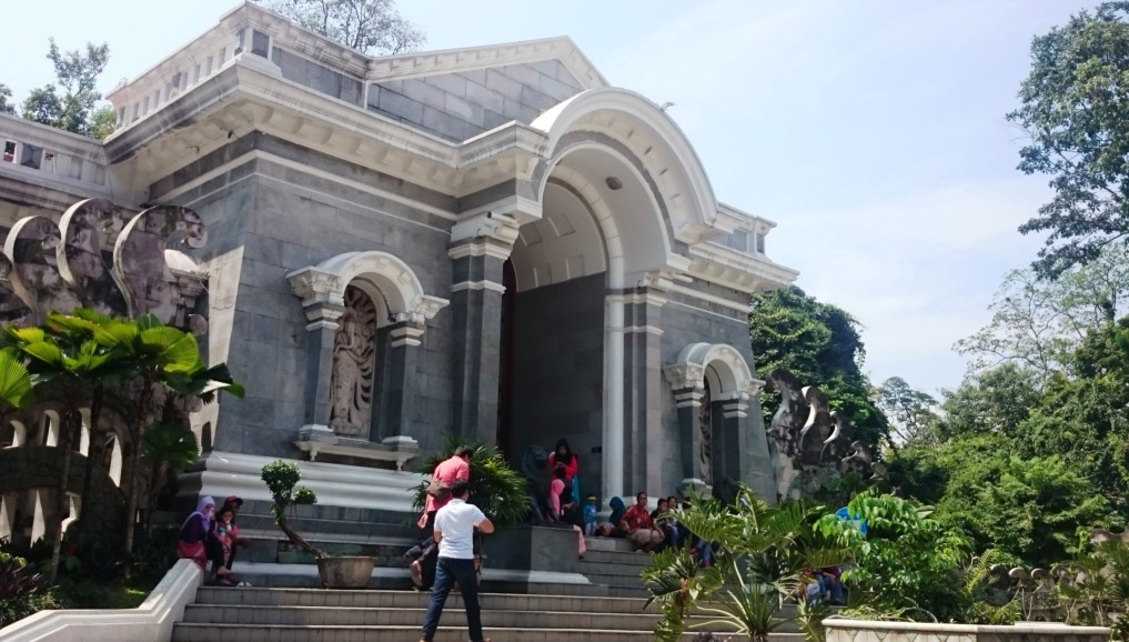 Der wunderschöne Eingang zum Botanischen Garten