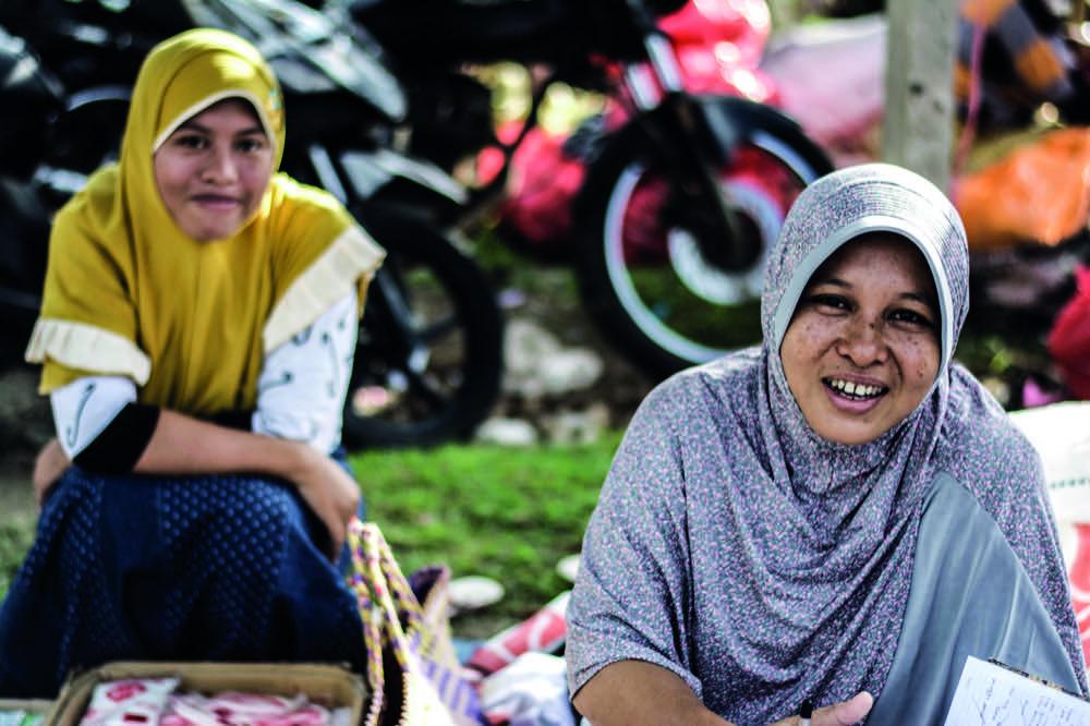 Menschen Lombok