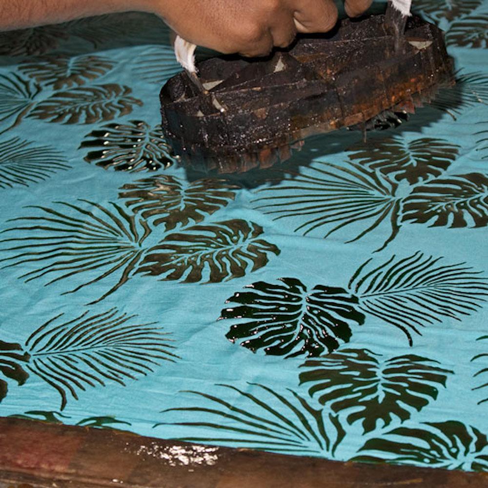 Der Batik Prozess