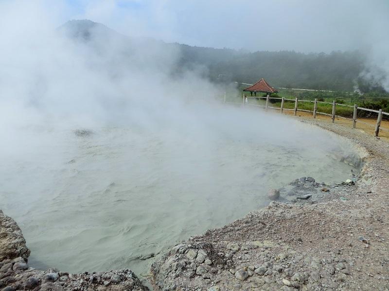 Der Sikadang Krater