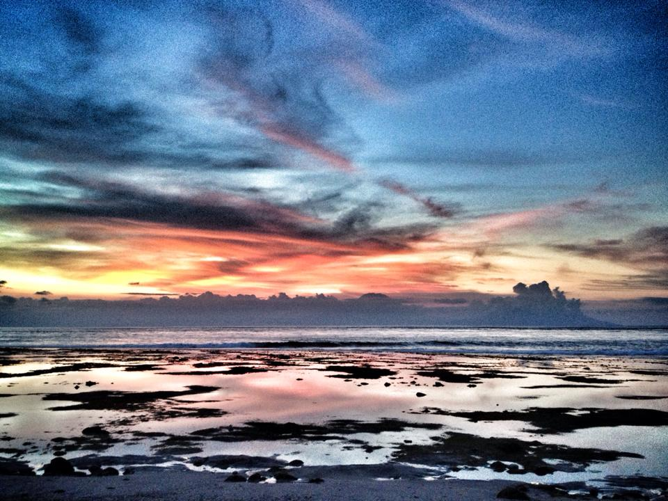 Desert Point in Lombok by Pelle Pellinski
