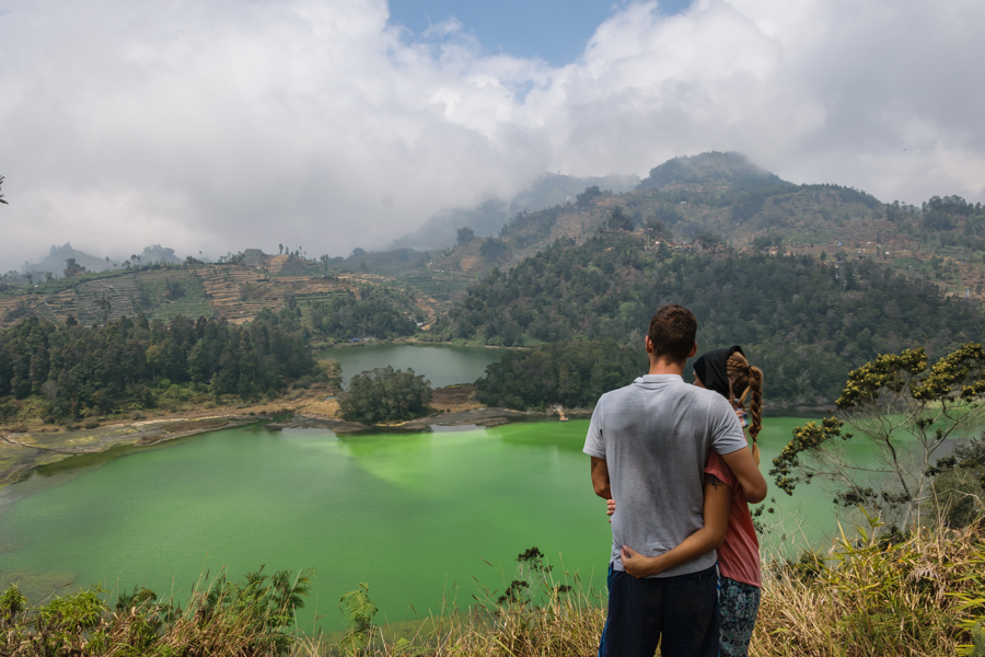Dieng Java Color Lake