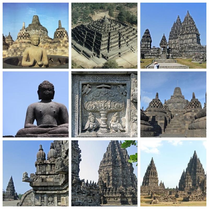 Tempel Borobodur und Prambanan - Quelle: Zoover